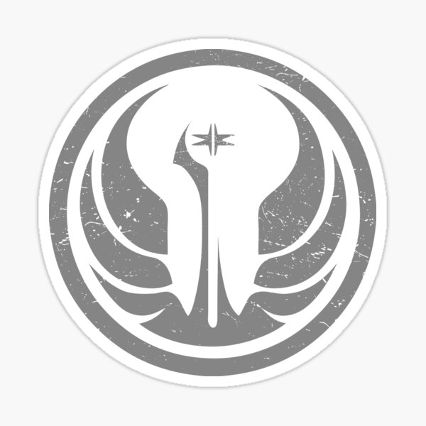 Star Wars The Old Galactic Republic - Gray Sticker