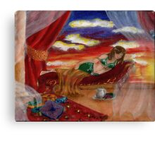 Evenings Peace Canvas Print