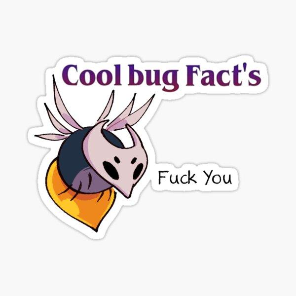 Cool bug Fact's Sticker