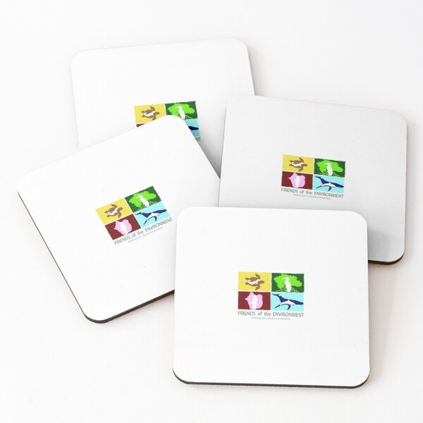 Friends of the Environment Coasters (Set of 4)