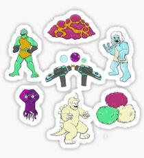 Monsters of Trek Sticker