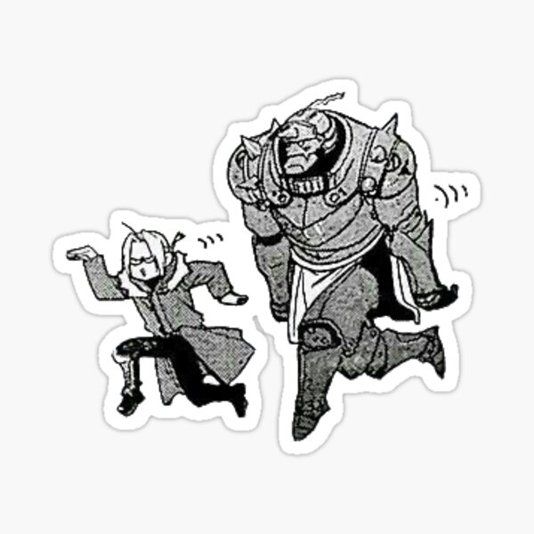 Frères muets Sticker