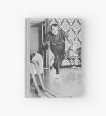 President Richard Nixon Bowling At The White House Hardcover Journal