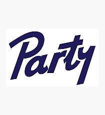 pabst party Photographic Print