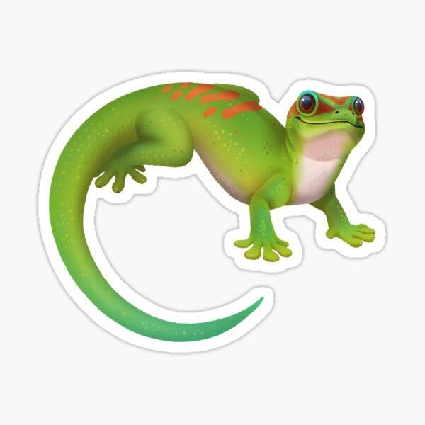 Madagascar giant day gecko Sticker