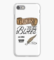 Flourish & Blotts. iPhone Case/Skin