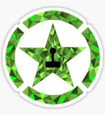 Geometric Achievements Sticker