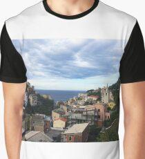 Riomaggiore Graphic T-Shirt