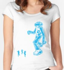 mommy look what i made!! Women's Fitted Scoop T-Shirt