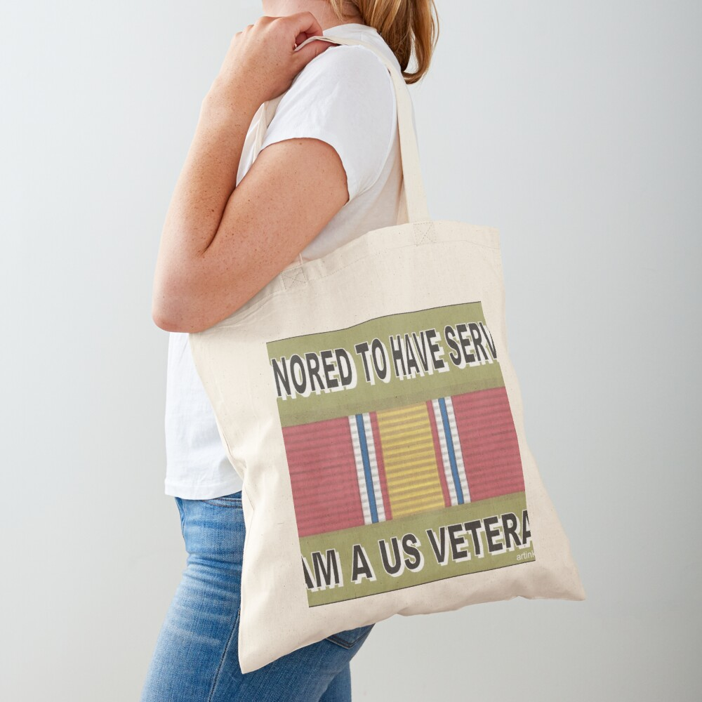 HONORED TO SERVE YOU Tote Bag