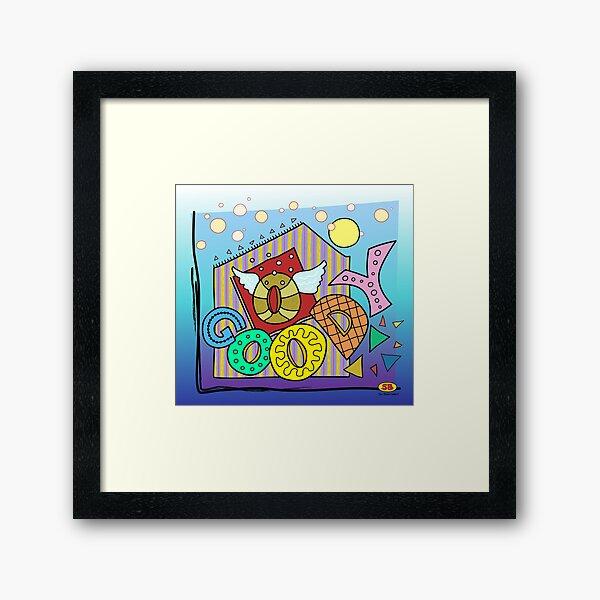 O Goody Framed Art Print