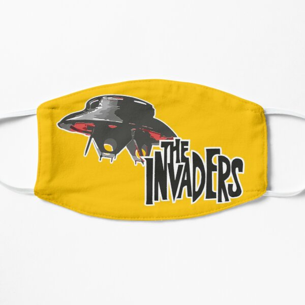 The Invaders 60's Flat Mask