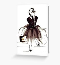 Edgy greeting cards redbubble wool and tulle greeting card m4hsunfo Images