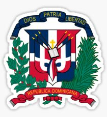 National coat of arms of the Dominican Republic Sticker