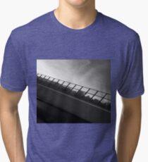Grey Scale Bridge  Tri-blend T-Shirt