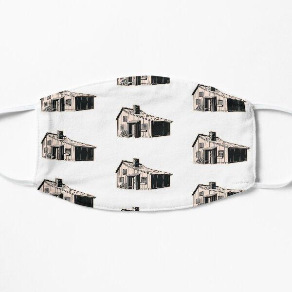 masque petite maison prairie Masque sans plis