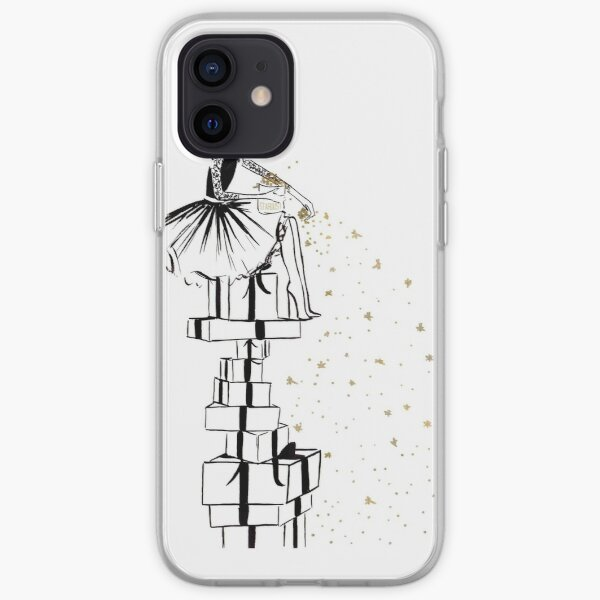 Christmas Stardust iPhone Soft Case