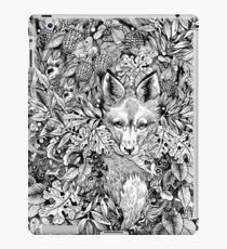 Fuchs verstecken iPad-Hülle & Klebefolie