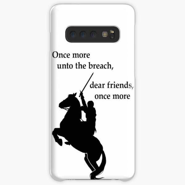 Shakespeare - Henry V - once more - light Samsung Galaxy Snap Case