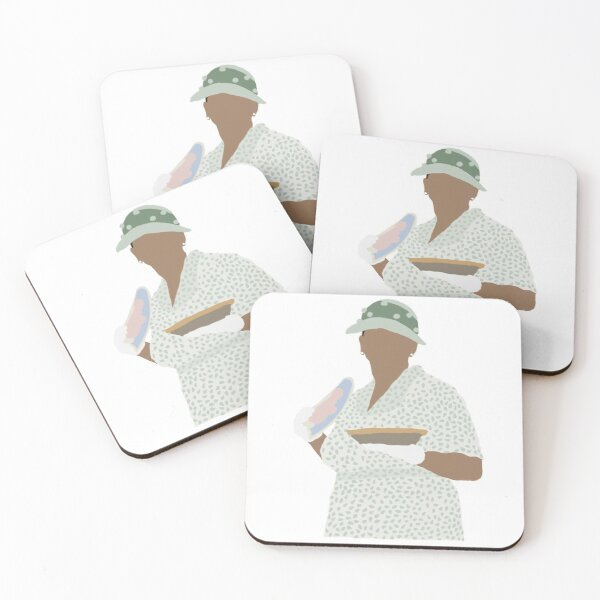 The Help illustration - Maids and ladies illustration Coasters (Set of 4)