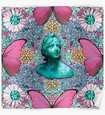 Green BB of the Butterflies Poster