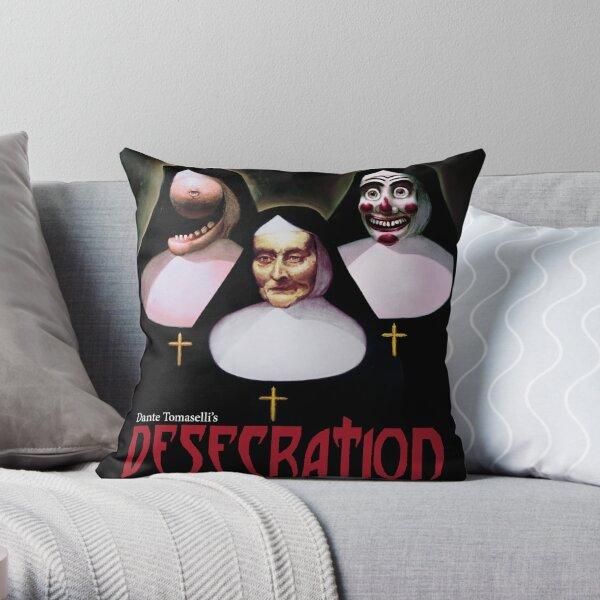 Dante Tomaselli's Desecration Throw Pillow