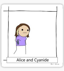Alice and Cyanide Sticker