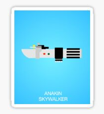 Anakin's Lightsaber Sticker