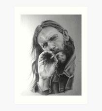 Rip Lemmy - madun Art Print