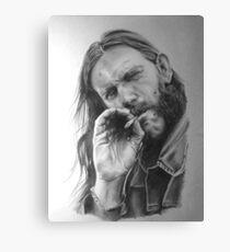 Rip Lemmy - madun Canvas Print