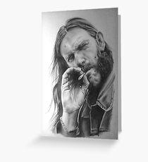 Rip Lemmy - madun Greeting Card