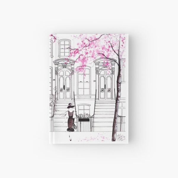 Holly Hailing a Cab Hardcover Journal