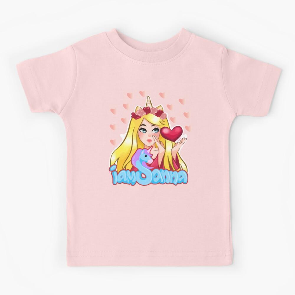 iamsanna sanna heart Kids T-Shirt