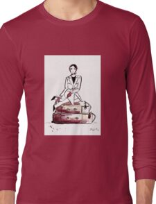 Travelling to New York City Long Sleeve T-Shirt