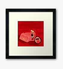 Anime RED Framed Print