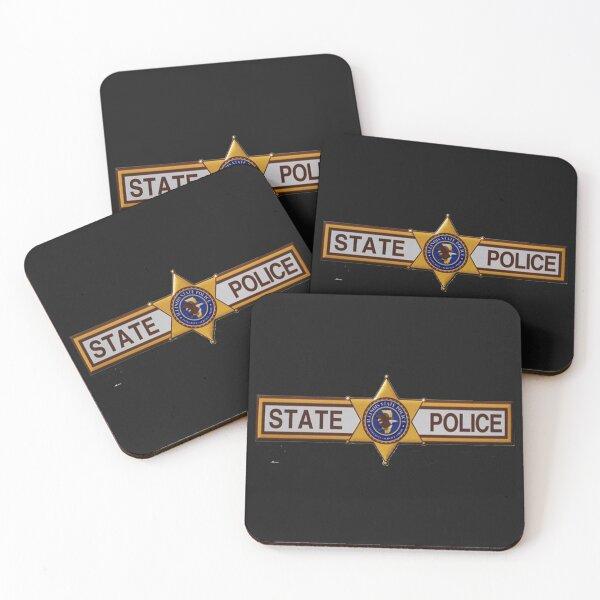 Illinois State Police Coasters (Set of 4)