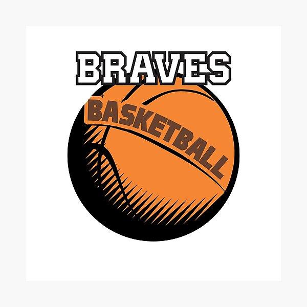 Braves Basketball family  Photographic Print