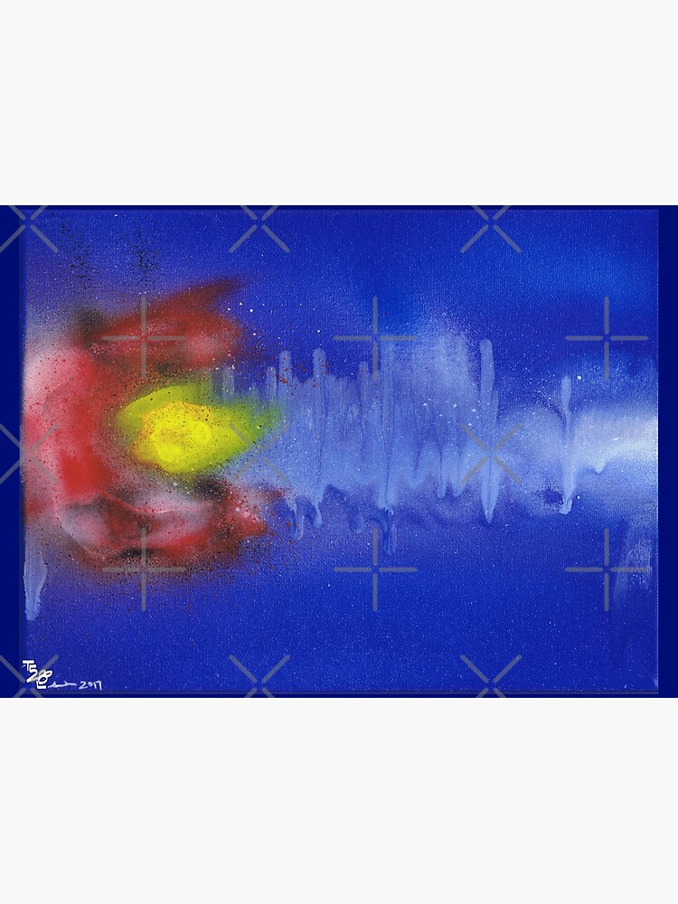 Sound Wave Flag by that5280lady