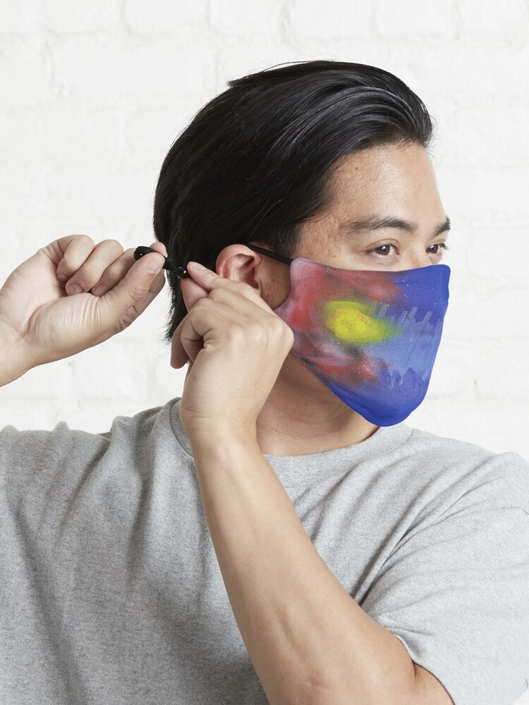 Alternate view of Sound Wave Flag Mask