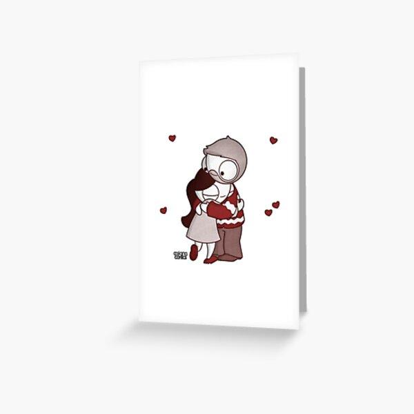 Holiday John & Catana #2 Greeting Card