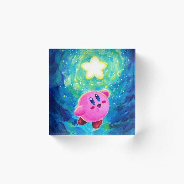 Kirby Star Acrylic Block