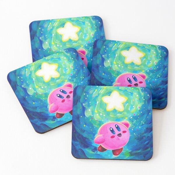 Kirby Star Coasters (Set of 4)