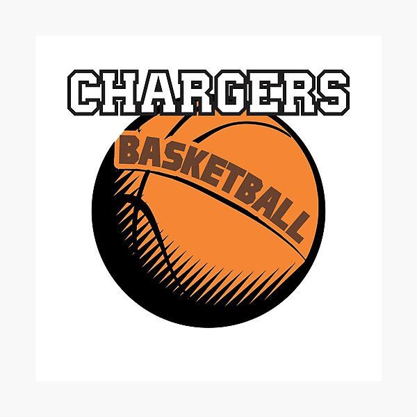 Chargers Basketball family  Photographic Print
