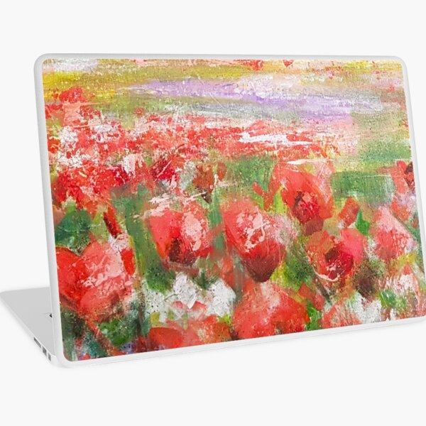 Poppy Field Laptop Skin