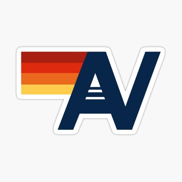 Aviator nation logo  Sticker