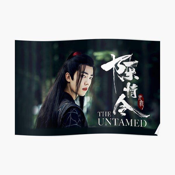wei wuxian schwarz Poster