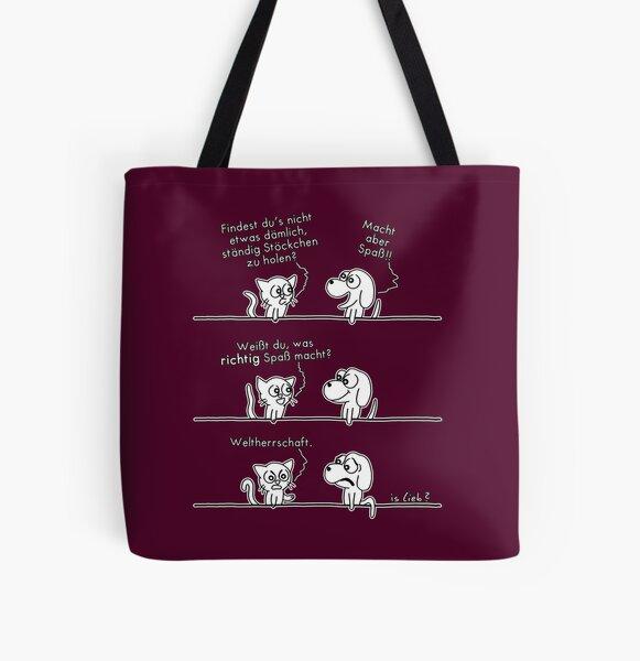 Spass - islieb-Comic Allover-Print Tote Bag