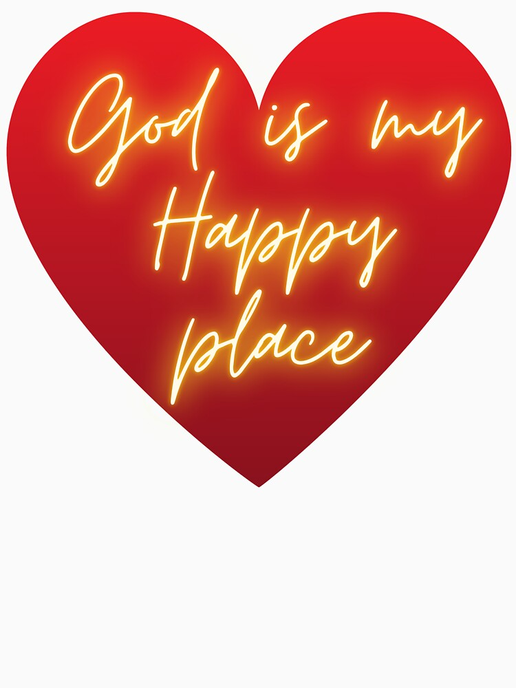 God is My Happy Place by kgerstorff