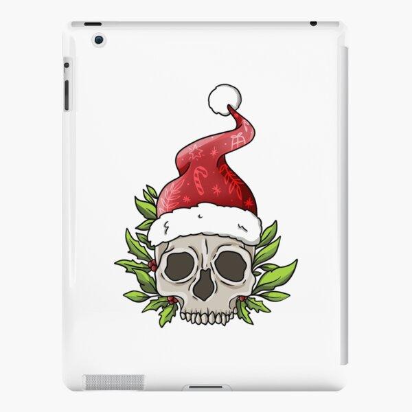 Santa Skull iPad Snap Case