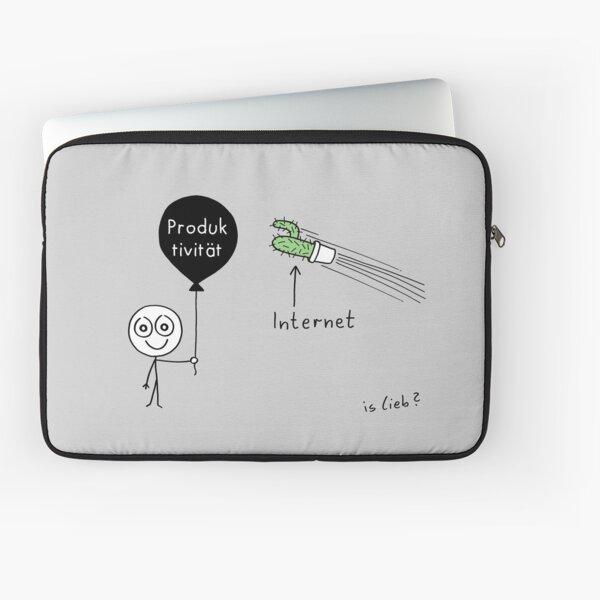 Modernes Drama Laptoptasche